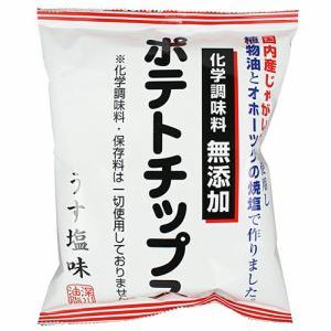 深川油脂工業 化学調味料無添加ポテトチップス うす塩味 (60g)