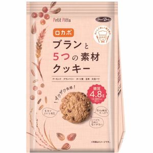 正栄食品 ブランと5つの素材クッキー 114g(個装紙込)