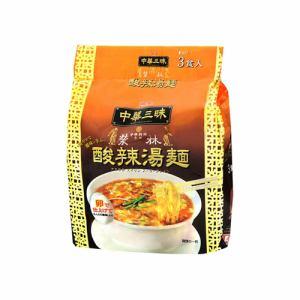 明星食品 明星 中華三昧 赤坂榮林 酸辣湯麺 103gX3