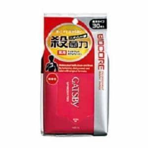 ギャツビー バイオコア デオドラントボディペーパー 無香性 (徳用) (30枚入)