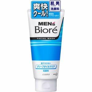 花王(Kao) メンズビオレ ディープオイルクリア洗顔 (130g)