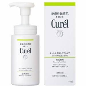 キュレル 皮脂トラブルケア 泡洗顔料 (150mL)