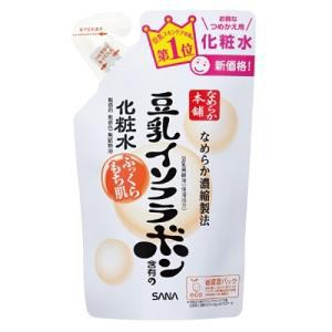 常盤薬品工業 サナ なめらか本舗 豆乳イソフラボン含有の化粧水 つめかえ用 (180mL)