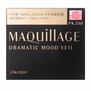 資生堂(SHISEIDO) マキアージュ (MAQuillAGE) ドラマティックムードヴェール PK200 ピーチピンク (8g)