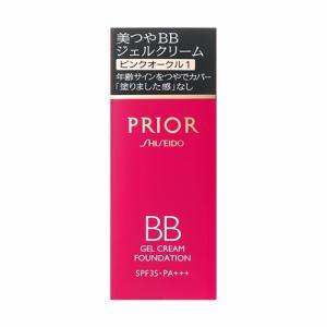 資生堂(SHISEIDO) プリオール 美つやBBジェルクリーム ピンクオークル1 (30g)