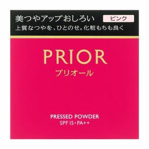 資生堂(SHISEIDO) プリオール 美つやアップおしろい ピンク (9.5g)