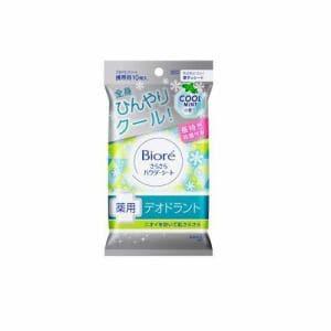 花王(Kao) さらさらパウダーシート 薬用デオドラント クールミントの香り [携帯用] (10枚/45mL)