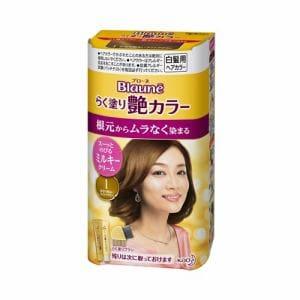 ブローネ らく塗り艶カラー 1:かなり明るいライトブラウン【医薬部外品】