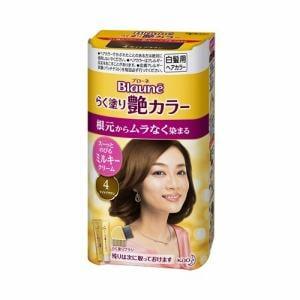 ブローネ らく塗り艶カラー 4:ライトブラウン【医薬部外品】