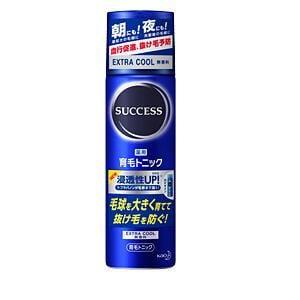 花王 サクセス 薬用育毛トニック エクストラクール 無香料 (180g)