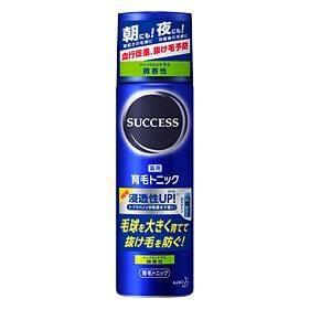 花王 サクセス 薬用育毛トニック 微香性 (180g)
