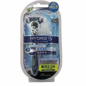 シック・ジャパン ハイドロ5 ダブルホルダー (替刃2個付)
