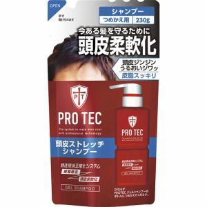 ライオン(LION) プロテク (PRO TEC) 頭皮ストレッチ シャンプー つめかえ用 (230g)