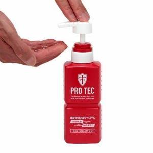 プロテク (PRO TEC) 頭皮ストレッチ シャンプー ポンプ (300g)