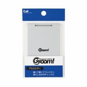 貝印(KAI) Groom! アルミミラー (1個)