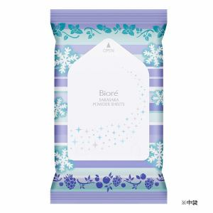 花王(Kao) ビオレ さらさらパウダーシート 香りマジック アイスミントtoベリーの香り [携帯用] (10枚)