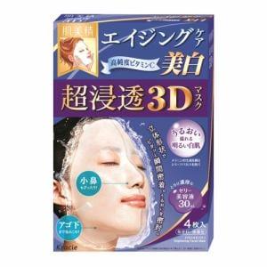 クラシエ(Kracie) 肌美精 超浸透3Dマスク エイジングケア(美白) (30mL×4枚)