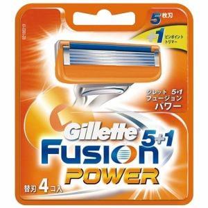 ピーアンドジー(P&G) フュージョン5+1 パワー 替刃 (4個入)
