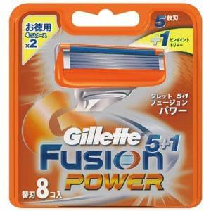 ピーアンドジー(P&G) フュージョン5+1 パワー 替刃 (8個入)