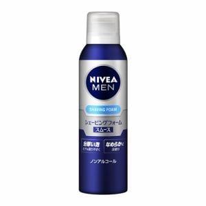 花王(Kao) ニベアフォーメン (NIVEA FOR MEN) シェービングフォーム スムース (195g)