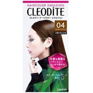 ダリヤ 【CLEODiTE(クレオディーテ)】ヘアカラーエマルジョン 04ココナッツブラウン