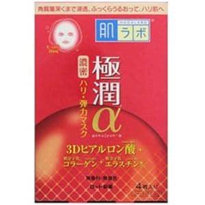 ロート製薬 肌ラボ極潤α 3Dヒアルロン酸スペシャルハリマスク 4枚入