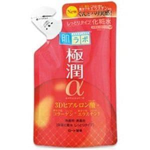 ロート製薬 肌ラボ極潤α 3Dヒアルロン酸保湿化粧水 しっとりタイプ つめかえ用 170ml