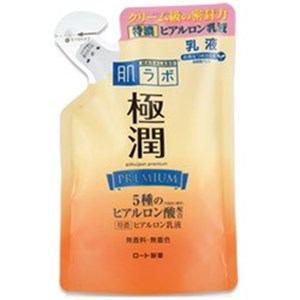 ロート製薬 肌研 極潤 プレミアムヒアルロン乳液 つめかえ用 140ml