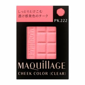 資生堂(SHISEIDO) マキアージュ チークカラー (クリア) PK222 (レフィル) (4g)