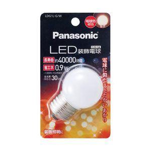 Panasonic LED装飾電球 G形タイプ 0.9W LDG1LGW