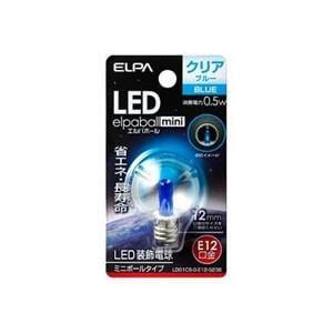 ELPA LDG1CB-G-E12-G238 LED電球G30E12 青色