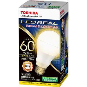 東芝 LED電球 電球色 E26口金 一般電球型 810lm 60W形相当 LDA8L-G/60W