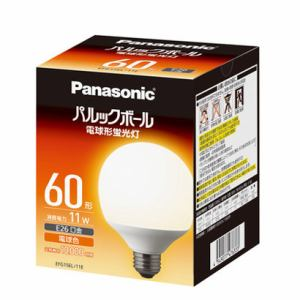 パナソニック 電球形蛍光灯 「パルックボール」(G形)電球色 EFG15EL11E