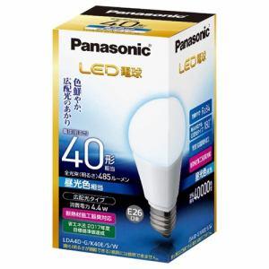 パナソニック 調光器非対応LED電球 (一般電球形・全光束485lm/昼光色相当・口金E26) LDA4D-G/K40E/S/W