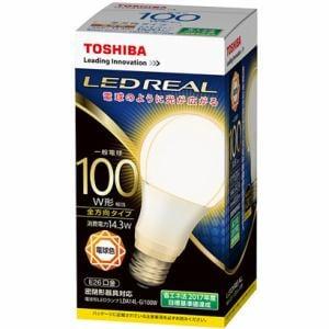 東芝 LED電球 一般電球形 100W E26 電球色 全方向タイプ LDA14L-G/100W