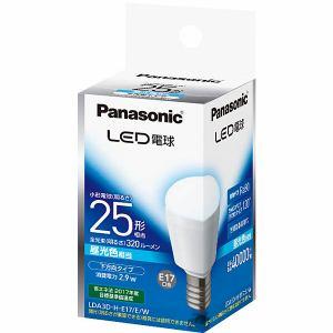 パナソニック LED電球 E17口金 25型相当 昼光色 320lm 下方向タイプ LDA3D-H/E17/E/W