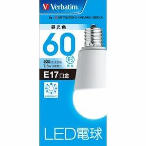 三菱ケミカルメディア LDA8DE17GV4 LED電球17口金 昼光色 60W相当