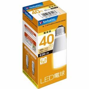 三菱ケミカルメディア LDT5LGV2 LED電球26口金 T型 電球色 40W相当