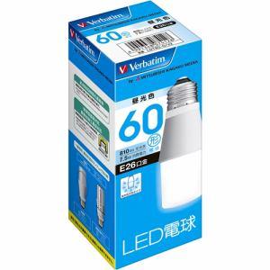 三菱ケミカルメディア LDT8DGV2 LED電球26口金 T型 昼光色 60W相当