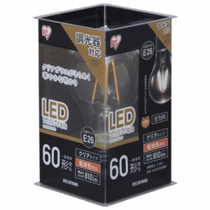 アイリスオーヤマ LDA7L-G/D-FC LED電球 E26口金 電球色 810lm(60W形相当)