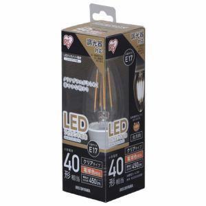 アイリスオーヤマ LDC4L-G-E17/D-FC LED電球 E17口金 電球色 450lm(40W形相当)