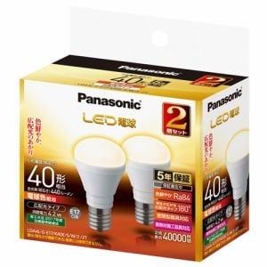 パナソニック LDA4LGE17K40ESW22T LED電球 4.2W 2個セット(電球色相当)