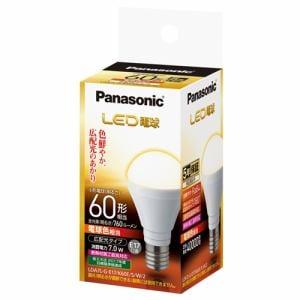 パナソニック LDA7LGE17K60ESW2 LED電球 7.0W(電球色相当)