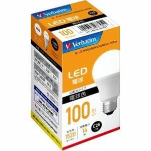 三菱ケミカルメディア LDA14L-G/LCV2 LED電球 100W相当 電球色
