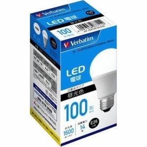 三菱ケミカルメディア LDA14D-G/LCV2 LED電球 100W相当 昼光色