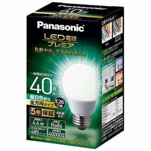 パナソニック LDA4NGZ40ESW2 LED電球プレミア 4.4W(昼白色相当)