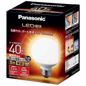パナソニック LDG4LG70W LED電球 3.6W(電球色相当)