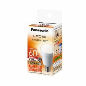 パナソニック LDA7LHE17ESW2 調光器非対応LED電球 (小型電球形・全光束760lm/電球色相当・口金E17)