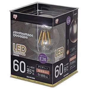 アイリスオーヤマ LDG7L-G-FC LEDフィラメント電球 ボール電球型 クリア 一般電球60形相当 電球色 密閉形器具対応