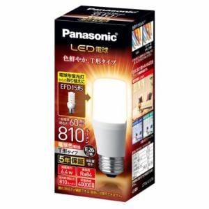 パナソニック LDT6LGST6 LED電球 T形タイプ E26 60形相当 810lm 電球色相当 断熱材施工器具・密閉型器具対応